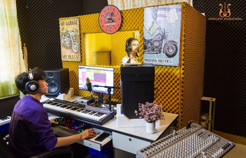 phòng thu âm levimusic